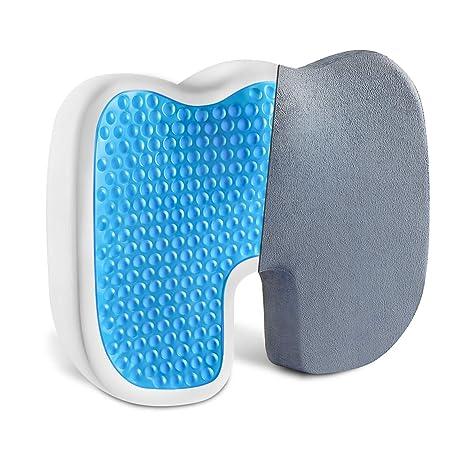 Amazon.com: Vanspace - Cojín de asiento de gel para silla de ...