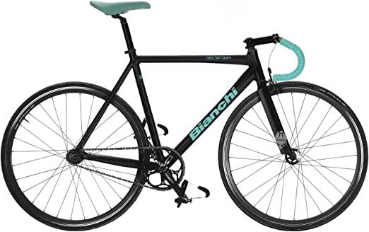 Bianchi pista Sé Giorni Single Speed/Fixed Bike 2016 55 cm: Amazon ...
