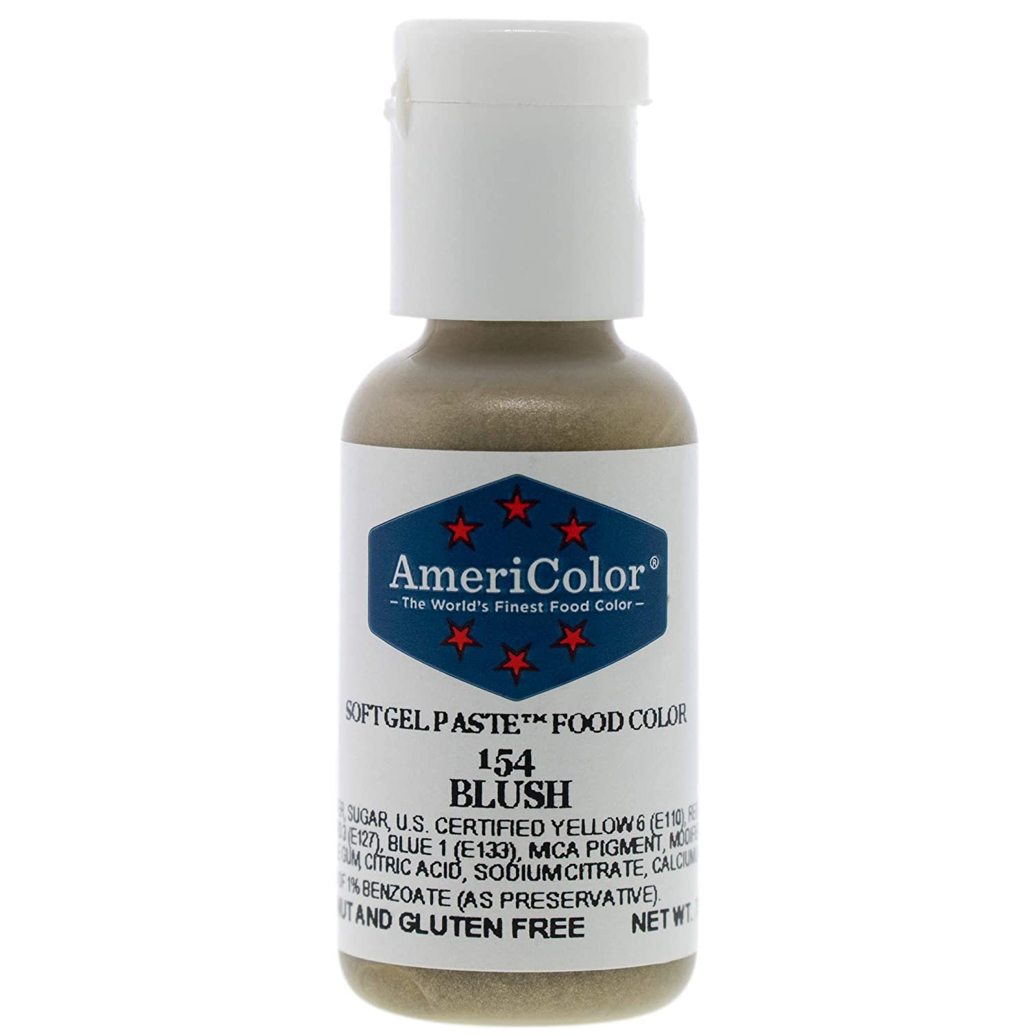 Food Coloring AmeriColor Blush Soft Gel Paste .75 Ounce