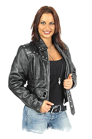 Blouson Cuir Femme Noir Moto Jacket Veste xOwYOrzgq