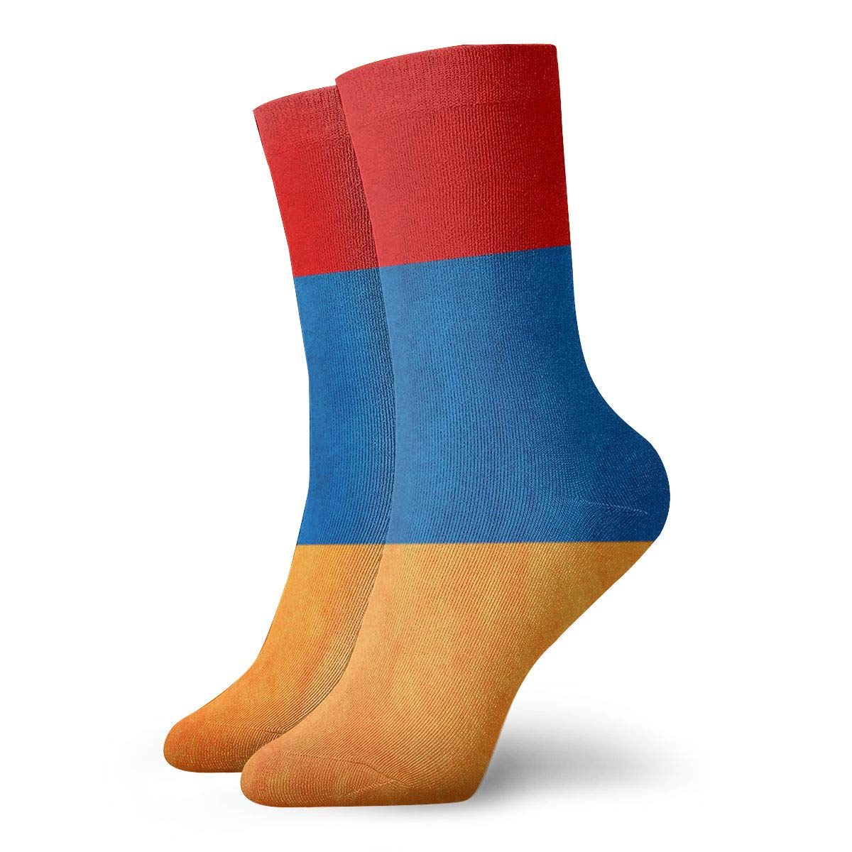 SESY Armenia Grungy Flag Unisex Crew Socks Short Sports Stocking