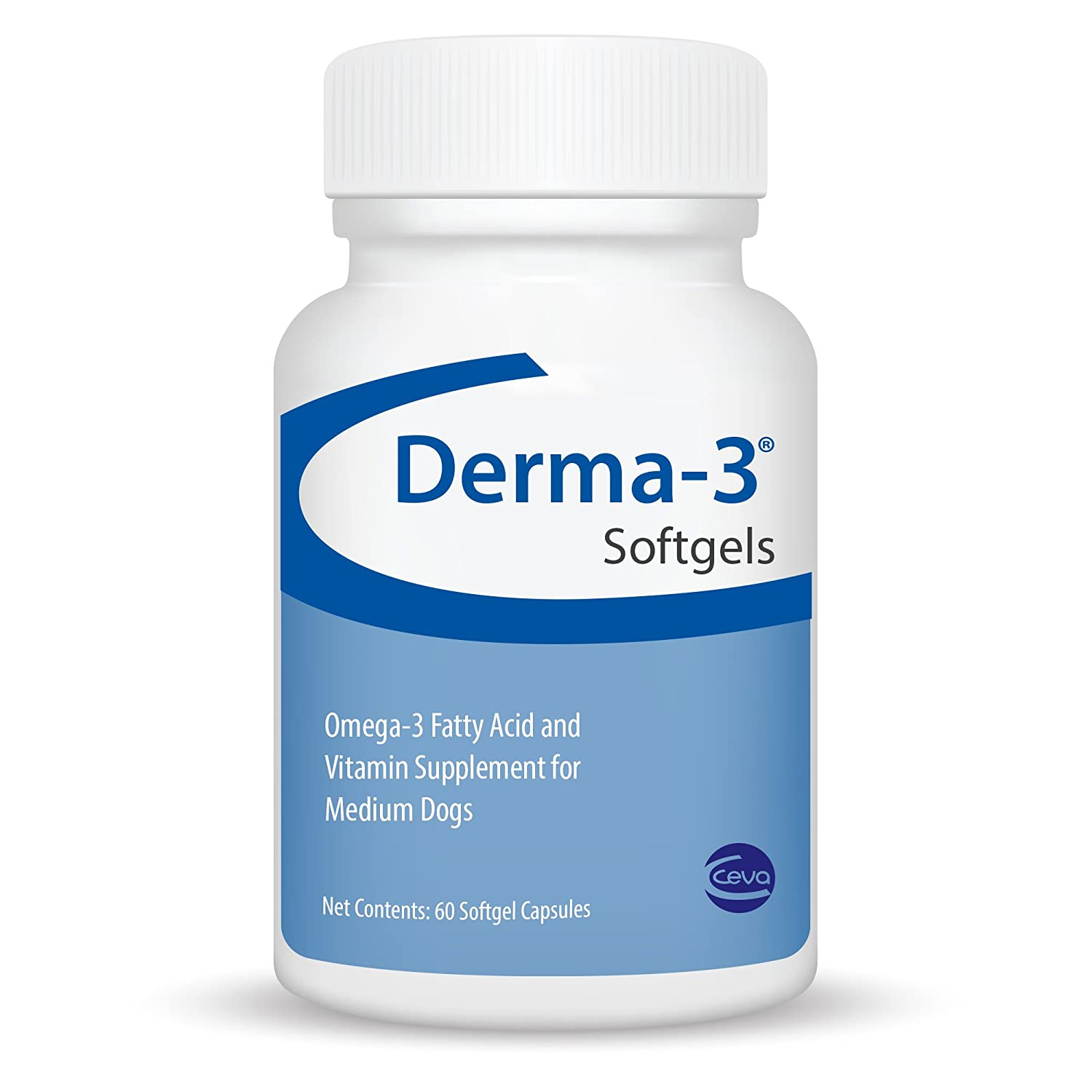 CEVA FNOME002060 Derma-3 Softgels, One Size