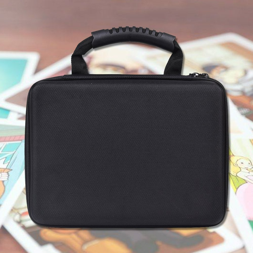 PAIYULE Extra Large Hard Game Card Case for 2200+ Cards. Fits for Main Card Game - C. A. H. Card Game, for Pokemon Card Game and All Other Card Games Expansions with Shoulder Strap by PAIYULE (Image #6)