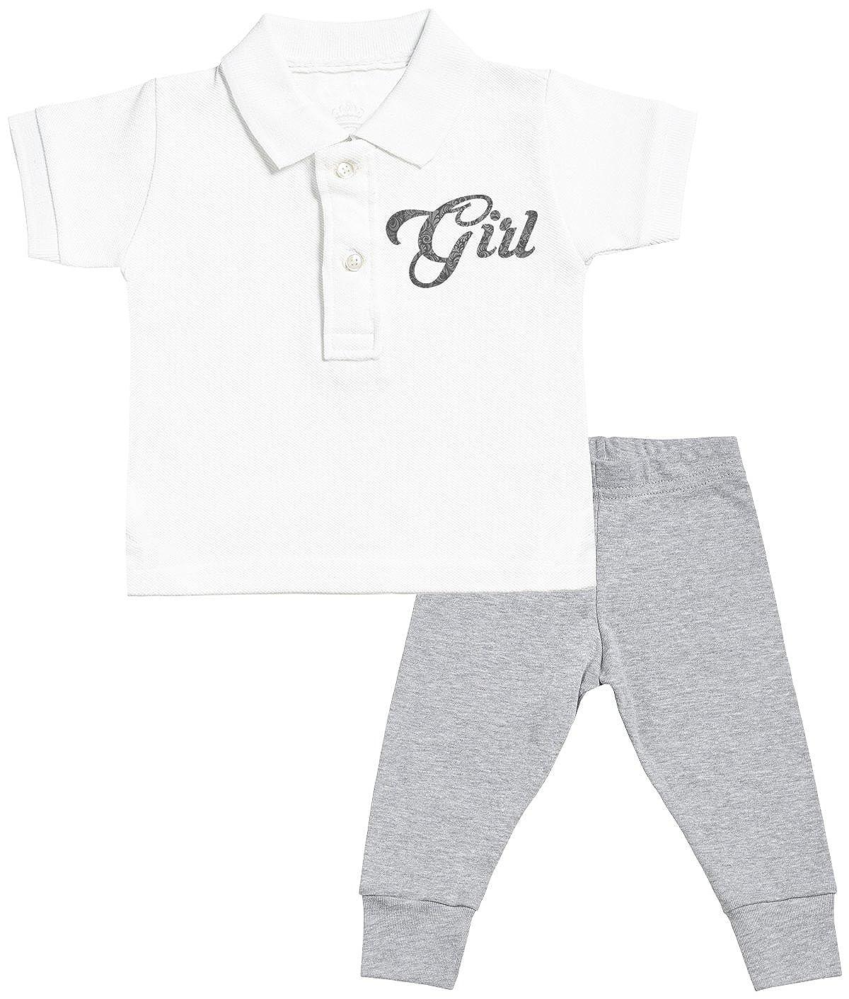 Spoilt Rotten Girl Design Regalo para Bebé - Polo Camiseta para ...