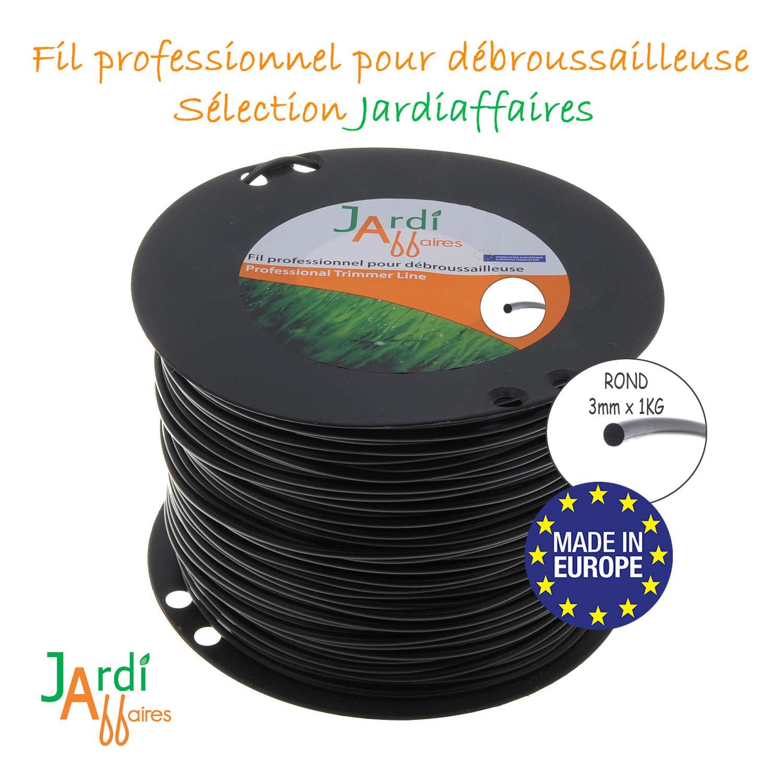 Jardiaffaires Extra Pro - Bobina de Hilo para desbrozadora (3 mm x ...