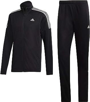 adidas C Team Sports Chándal, Hombre, Negro (Black/Black/White ...