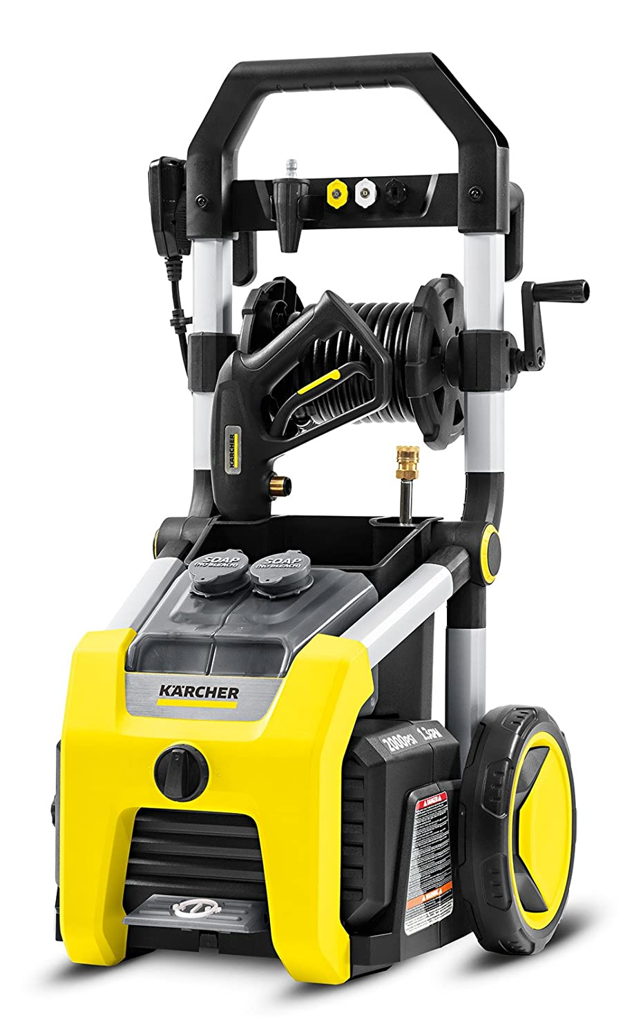 Karcher K2000 Electric Power Pressure Washer 2000 PSI TruPressure, 3-Year Warranty, Turbo Nozzle Included
