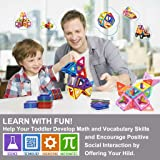 Magnetic Blocks, Magnetic Tiles for Kids, Magnetic