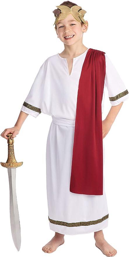Bristol Novelty Traje Emperador Romano (L) Edad aprox 7-9 años ...