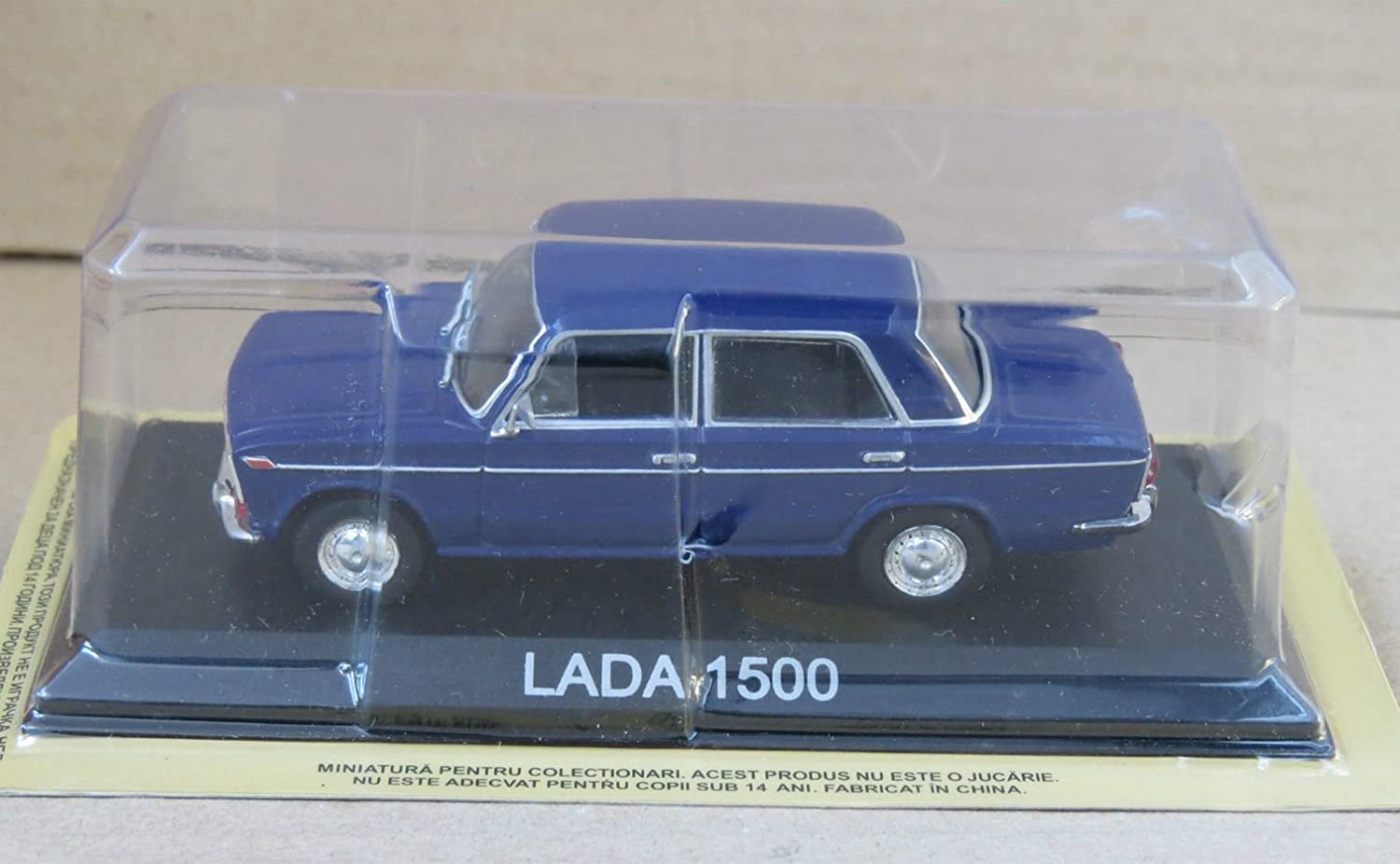 1:43 EAST CAR : LADA 1500 BLEUE VOITURE MINIATURE COLLECTION 1/43 IXO LEGENDARY CAR AUTO B09 Unbekannt