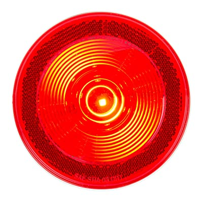 Grand General 76459 4 Inch Fleet Red/16 LED Sealed Light with Reflex Lens, 1 Pack: Automotive