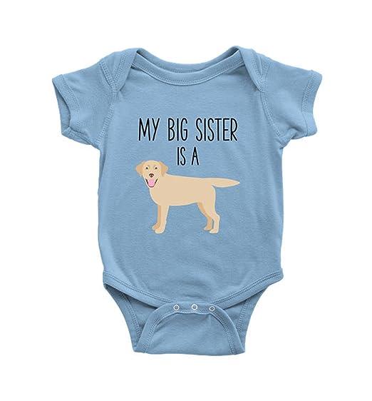 a81746c6fcd Amazon.com  InkCallies My Big Sister is A Yellow Labrador Retriever ...