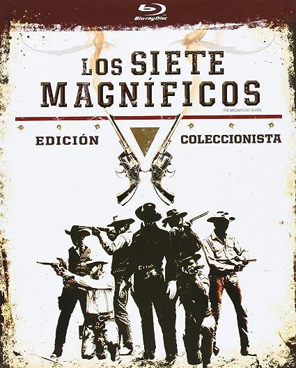 Los Siete Magnificos Formato Libro - Blu-Ray Blu-ray