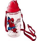 Spiderman Borraccia Plastica 450 ml 44849 Rosso