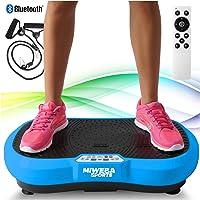 Miweba Sports Fitness 2D Vibrationsplatte MV100-3 multidimensionale Vibrationszonen - Oszillierend - 250 Watt
