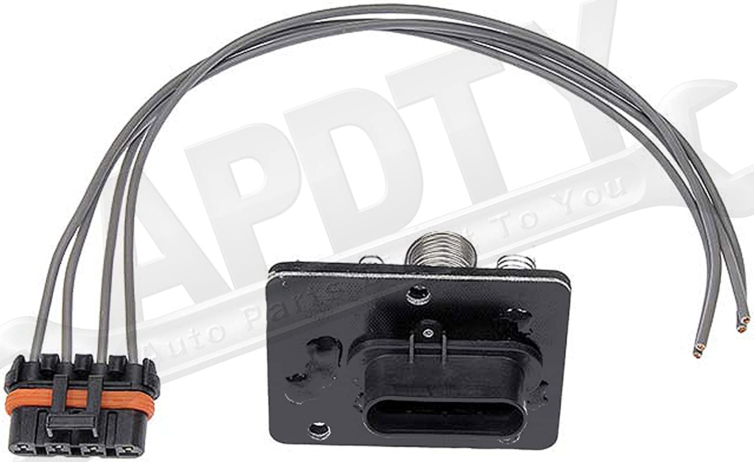 Apdty 084514 Blower Motor Resistor Kit W Wiring Harness Wire Amp Cable Technician Pigtail Fits 1994 2004 Chevrolet S10 Pickup 1995 2005 Chevy Blazer Gmc Sonoma