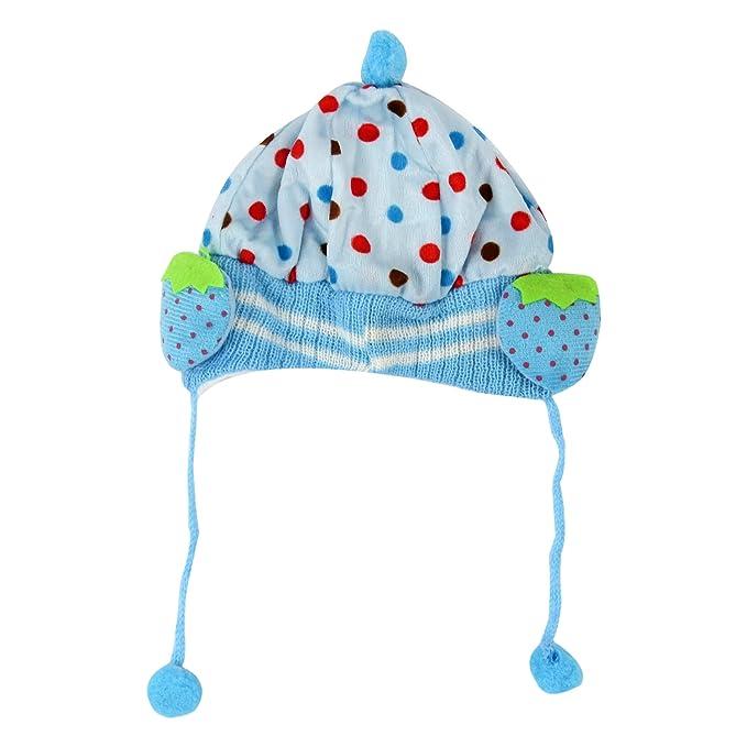 7697cf213df Baby Grow New Baby Hat Autumn Winter Baby Warm Sleep Cotton Toddler Cap Kids  Newborn 0
