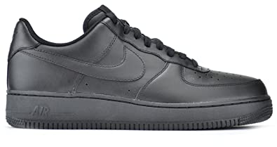 best service 7598d 5c7f6 Nike Air Force 1 Men s Sneakers Black Black 315122-001 (7.5 D(