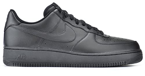 Amazon.com   Nike Air Force 1 Men s Sneakers Black Black 315122-001 ... 8ed6ee1a6e23