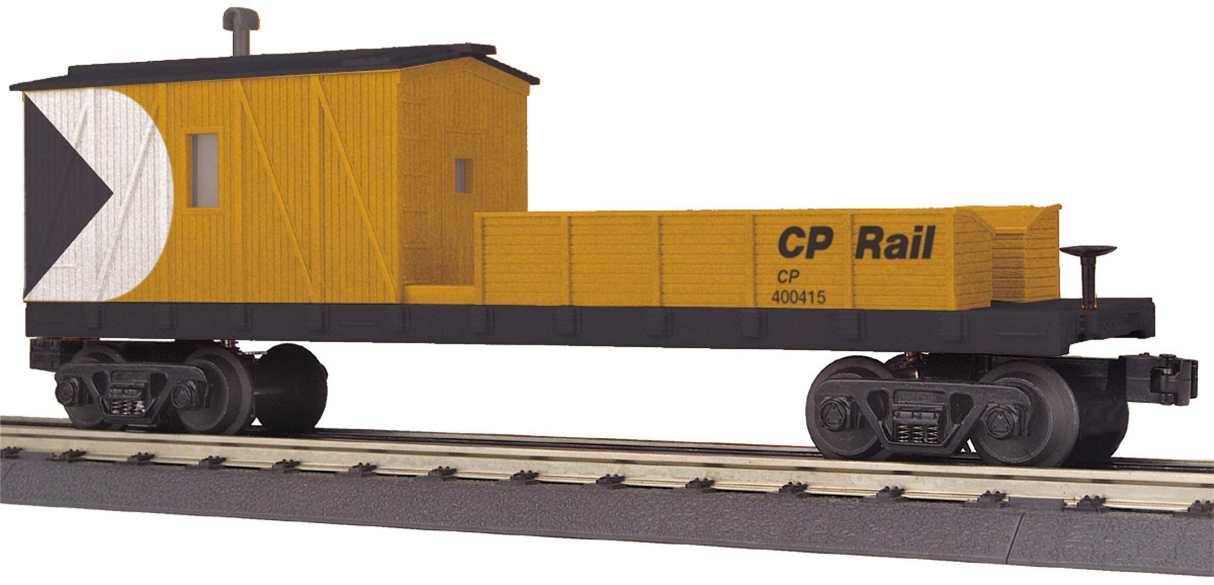 MTH 30-79468 O Canadian Pacific Crane Tender #400415