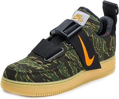 piel interfaz Descuidado  Amazon.com | Nike Mens Air Force 1 UT Low PRM WIP Camo Green/Orange  Synthetic | Basketball