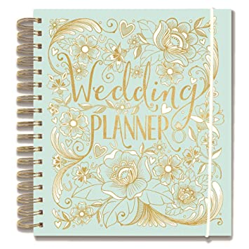 Wedding Planner - Duck Egg Blue - perfect Engagement Gift with ...