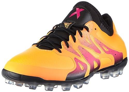 adidas X 15.1 AG Scarpe da Calcio Uomo Arancione Solar Gold/Core Black/Shock