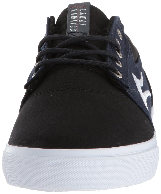 Lakai lienzo de blanco y zapatos Griffin skate de negro en frq7fgwX