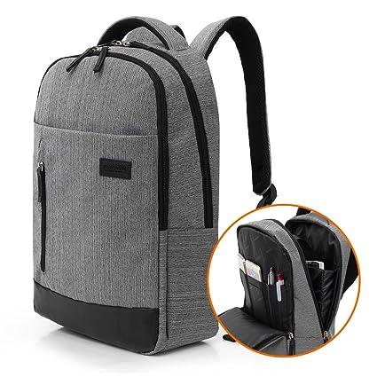 3b5501b8e1 Amazon.com  15.6 Inch Business School Bag Classic Laptop Backpack ...