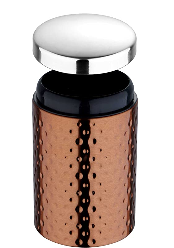 Bergner Tidy Home Stainless Steel Canister, 900ml, Brown