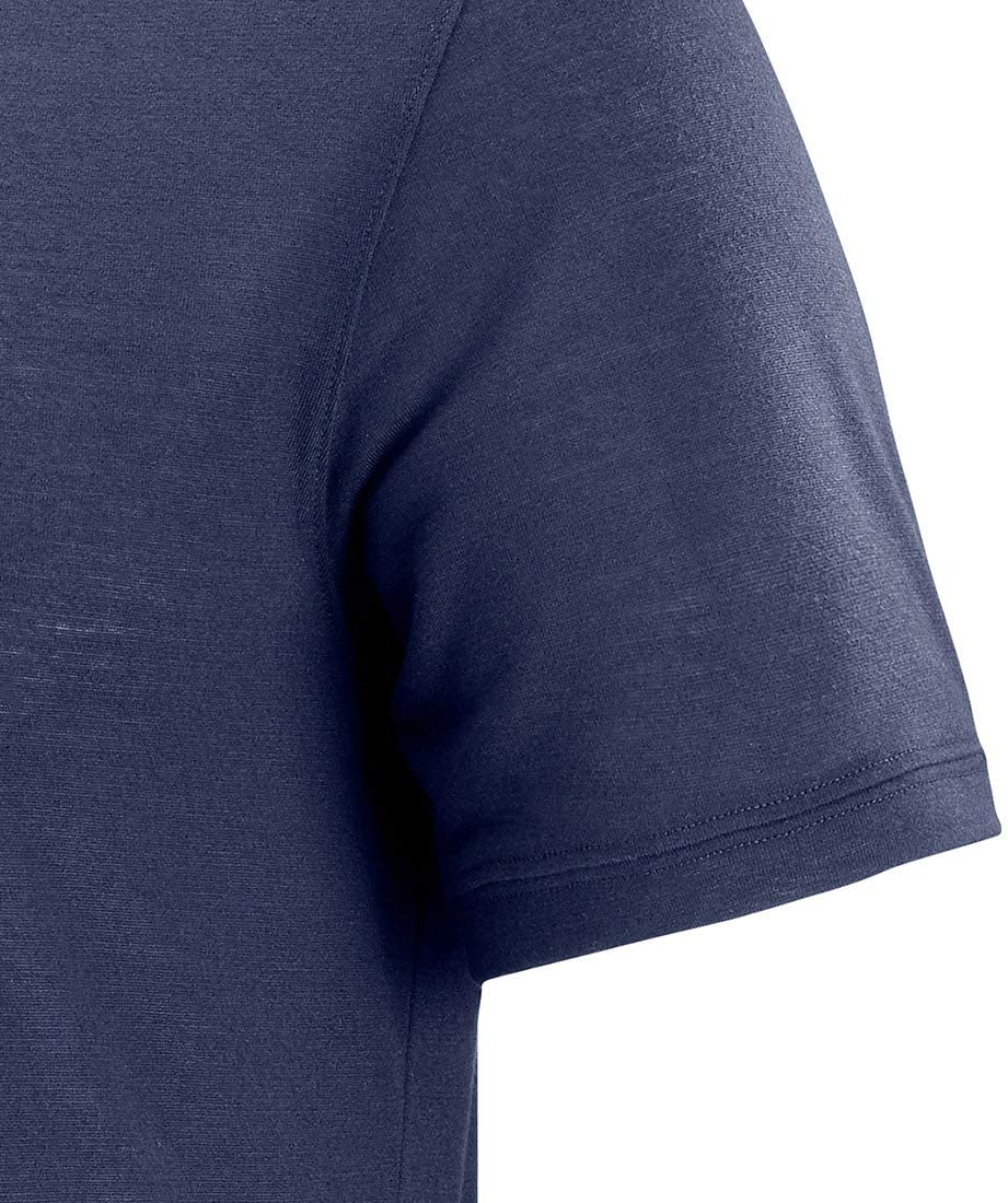 Poli/éster SALOMON Explore SS tee M Camiseta Deportiva de Manga Corta Hombre