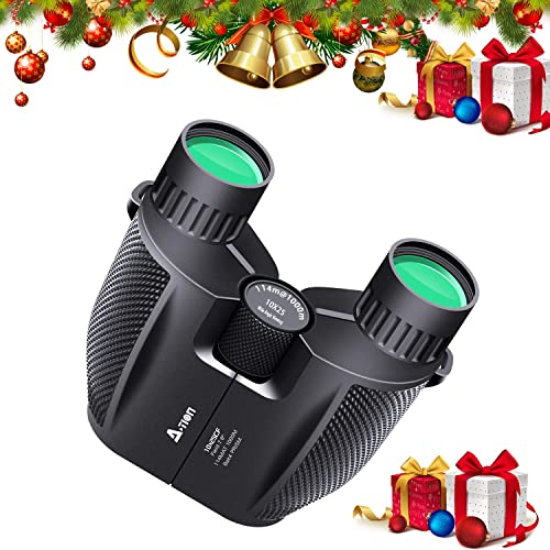 2NLF Professional Binoculars for Adults Valentines Gift for Him 12X42 High Power HD Ideal Gift Folding Easy Focus Scope Optics Glasses Adjust Eye Lens for Birds Watching Outdoor Activities Sports