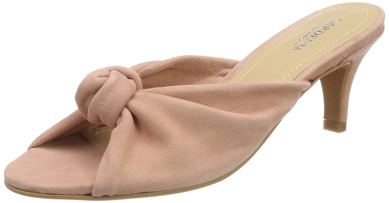 Gardenia Copenhagen Goprasa, Zapatos de Tacón con Punta Abierta para Mujer