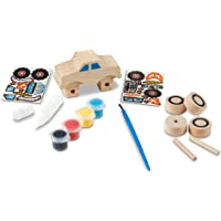 Melissa & Doug 9524 Decorate-Your-Own Wooden Monster Truck Craft Kit