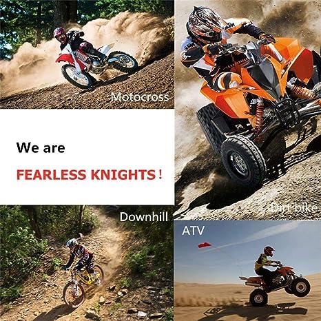 VOMI/® Casco de Motocross para Motocicleta Cascos de Descenso Hombre Enduro Quad MTB con Gafas//M/áscara//Guantes Dot Certificaci/ón Downhill Cross Off Road ATV Scooter Apto Adultos