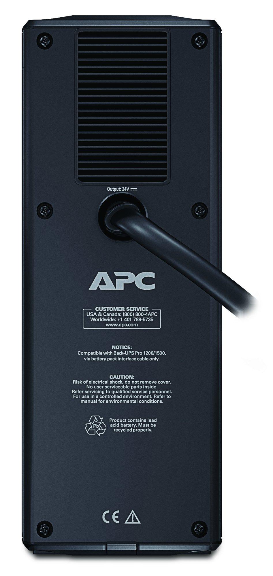 APC External Battery Backup Pack for Model BR1500G (BR24BPG) by APC (Image #2)