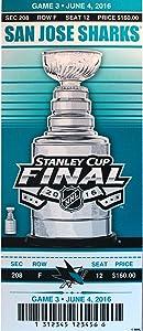 NHL San Jose Sharks Mini-Mega Ticket, Navy, One Size