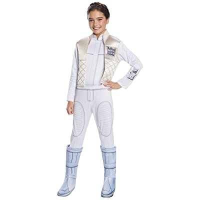 Rubie's Girls Star Wars: Forces Of Destiny Deluxe Princess Leia Organa Costume, Medium: Toys & Games