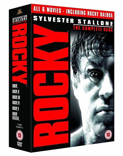 Rocky: The Complete Saga Edizione: Regno Unito Reino Unido DVD: Amazon.es: Movie, Film: Cine y Series TV