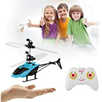 Magicwand® Induction Type 2-in-1 Flying Indoor Helicopter with Remote for Kids