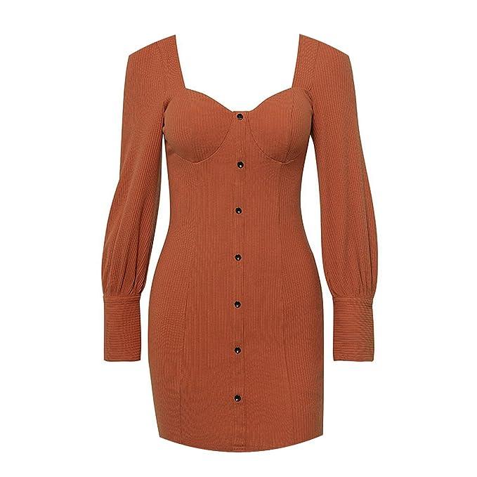 3940bb7dc30 Front Button Sexy Long Sleeve Zipper Bodycon Mini Dress 2018 Autumn Fashion  Casual Dresses Female