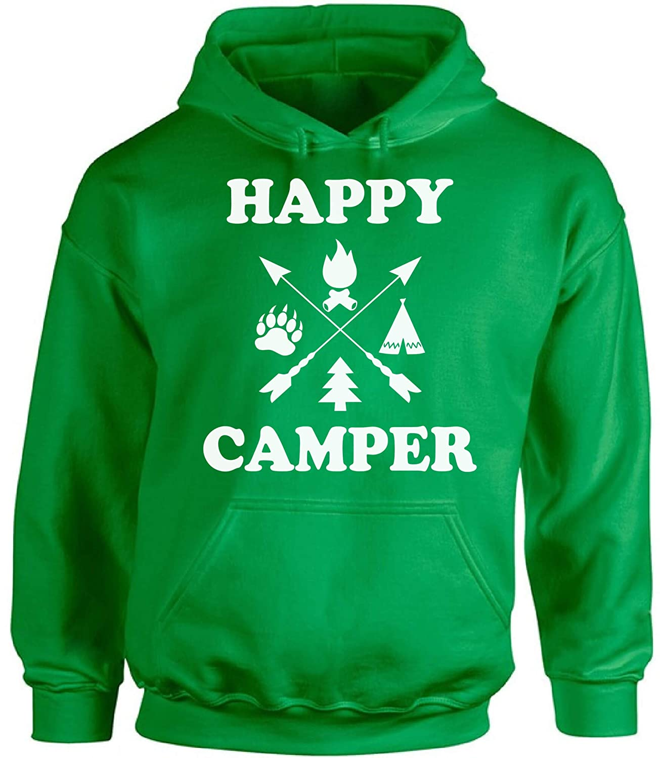 Awkward Styles Happy Camper Unisex Sweatshirt Camper Hoodie for Dad Happy Camper Hoodie