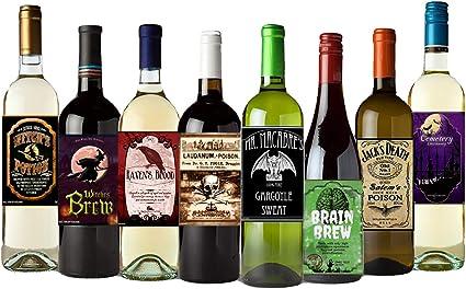 Buenos Amigos Son como estrellas botella de vino etiqueta de vinilo