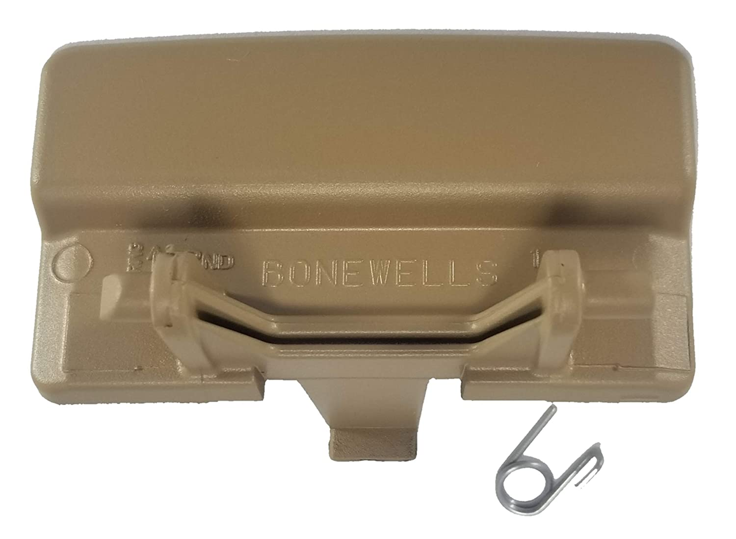 Bonewells Ford F 150 Center Console Latch for Jump Seat, Armrest Latch 2011-2018 (Gray)