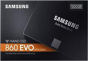 500GB SSD 860 EVO 2.5 SATA III