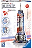 Ravensburger Italy 12583 - Set 12583 Empire State Building Flag Edition, Colori Assortiti, 216 Pezzi