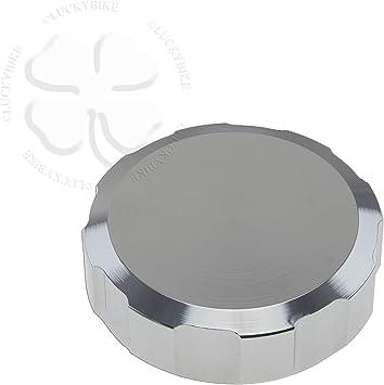 Chrome 52mm CNC Reservoir Cap For Suzuki GSXR 600 92-14 Top Fluid Brake Clutch