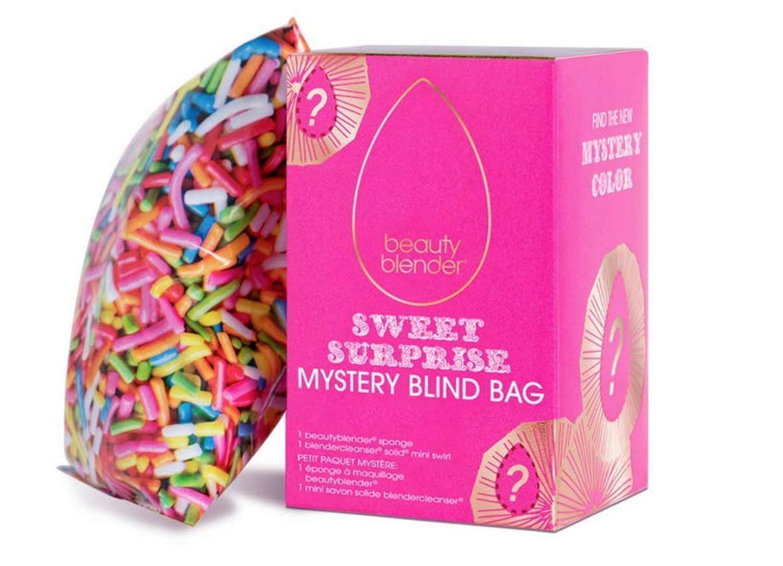 beautyblender Sweet Surprise Limited Edition Blind Bag Gift, Including Makeup Sponges and Cleanser