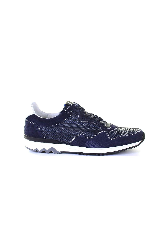 Floris van Bommel 16238 Blau Gr. 42.5: : Schuhe