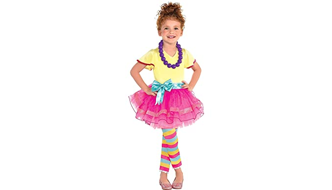 party city fancy nancy halloween costume for toddler girls 3 4t with included
